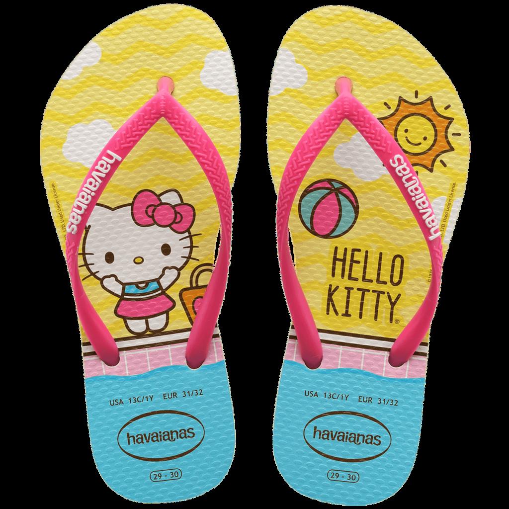 Havaianas lança coleção de sandálias da Hello Kitty