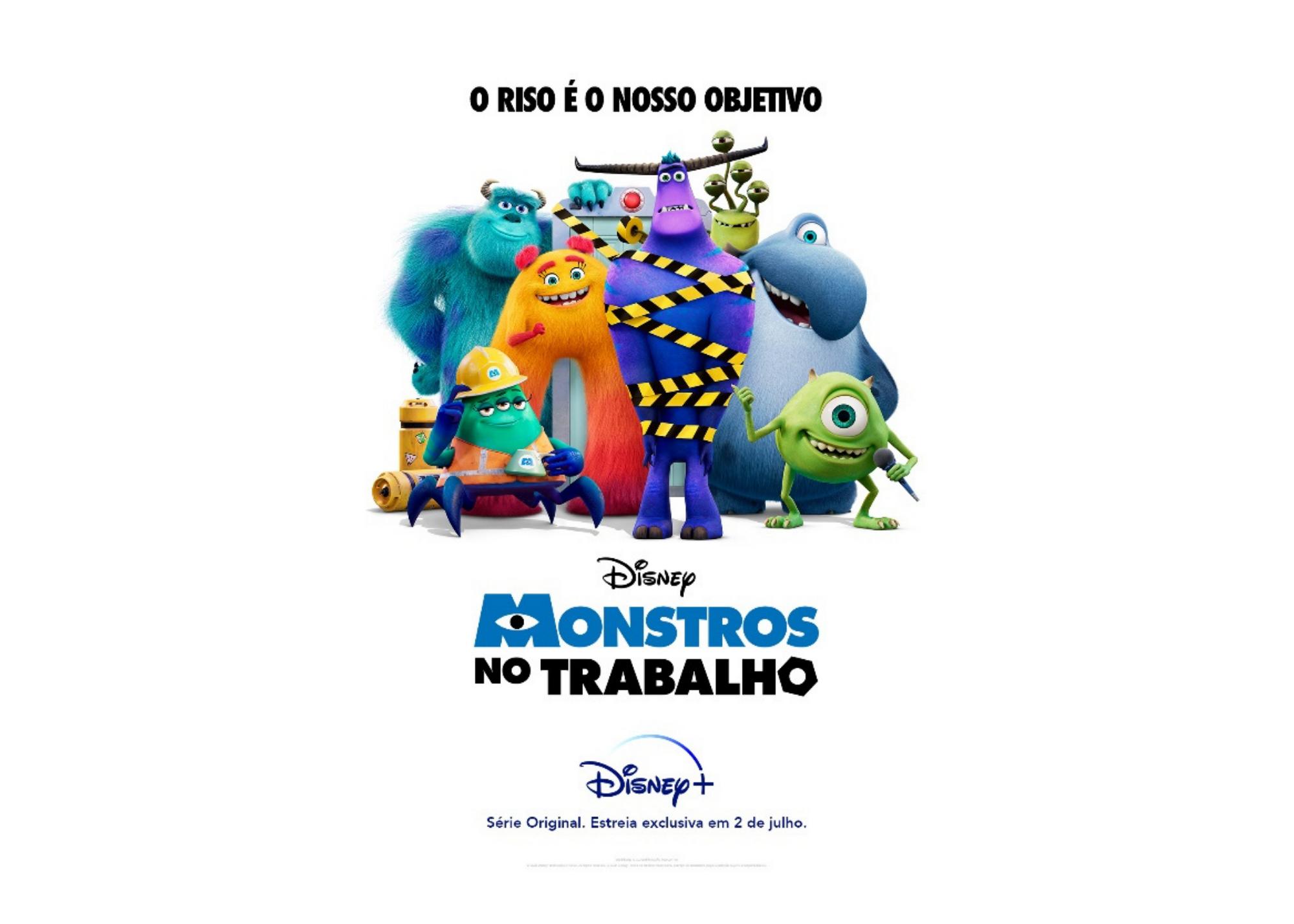 Monstros no Trabalho estreia no Disney+