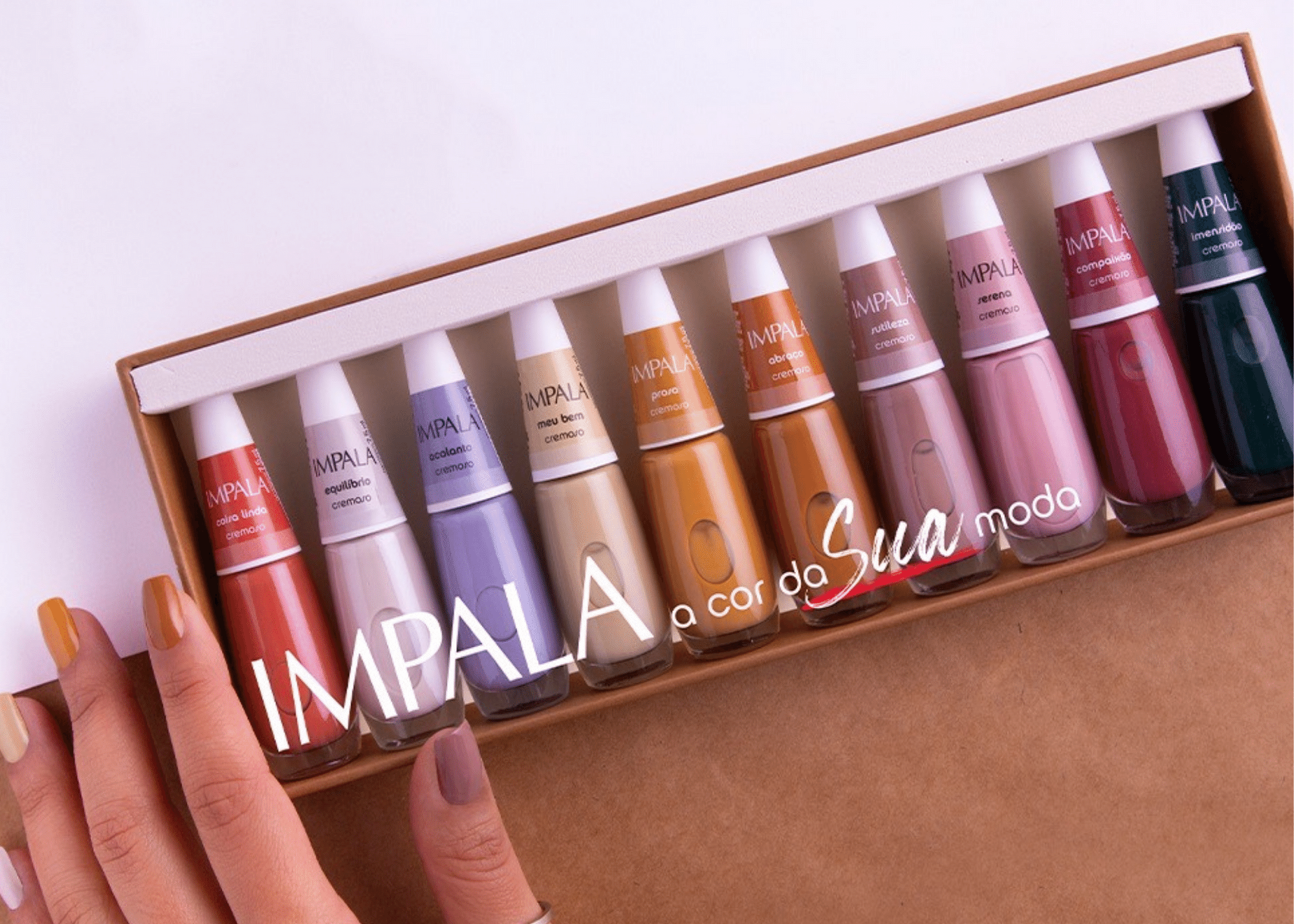 Impala lança 10 novas cores com temática nostálgica e reconfortante
