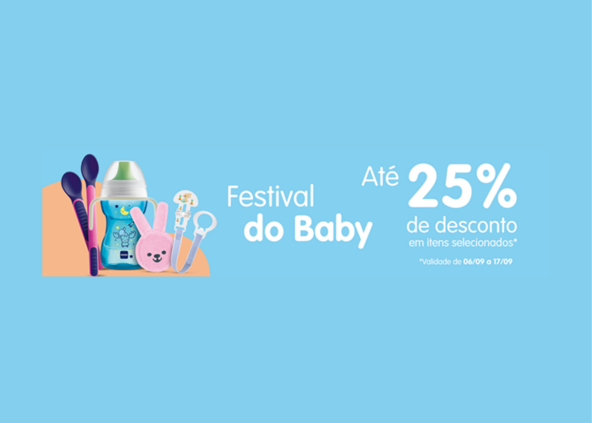 MAM apresenta Festival do Baby com promoções exclusivas para o e-commerce